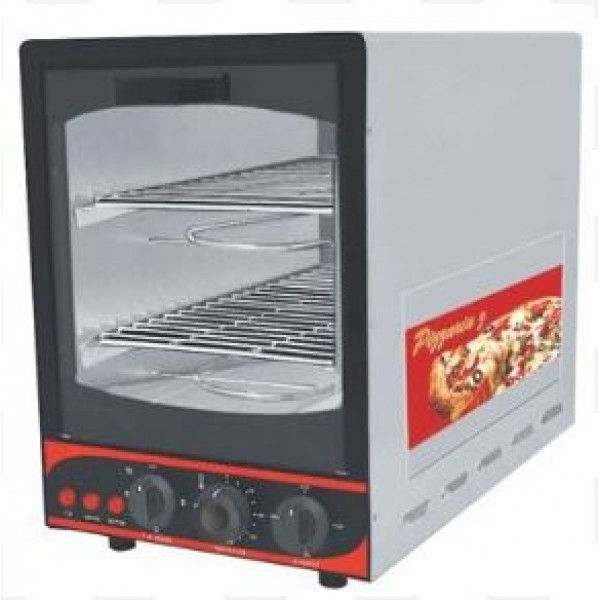 Pizza Oven 9x18Inch SS Grill Double