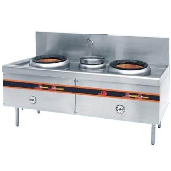 Chinese Cooking Range 2 Burner