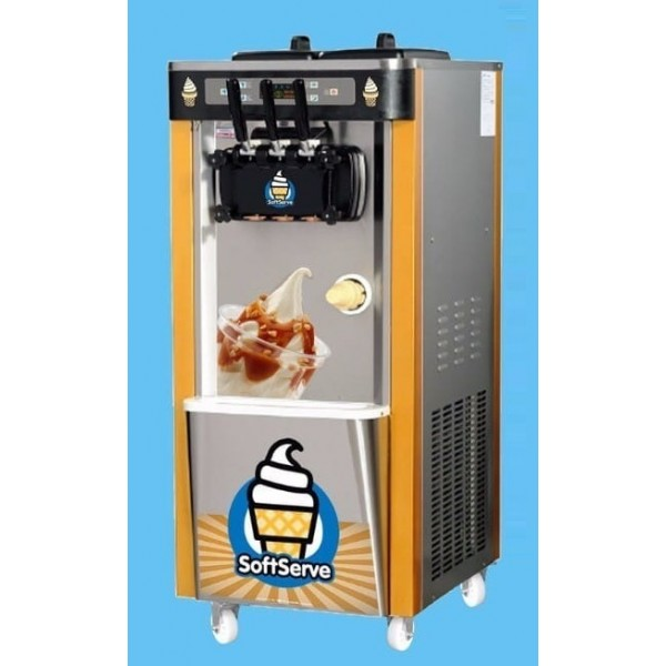 Softy Ice Cream  Machine 2x5.8 Ltr