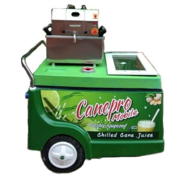 Sugarcane Juicer Machine Cart