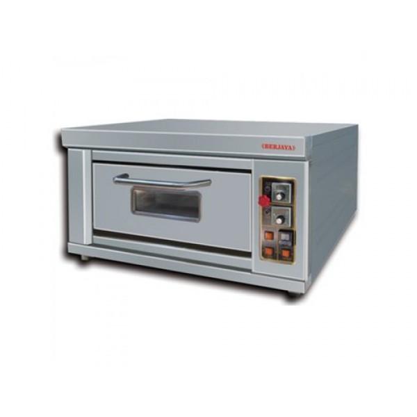 Pizza Oven 1 Deck 1 Tray Gas Oven Berjaya