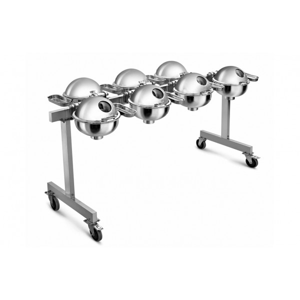 Portable Seven Chafer Trolley CKA-508