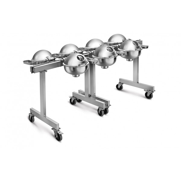 Portable Seven Chafer Trolley CKA-514