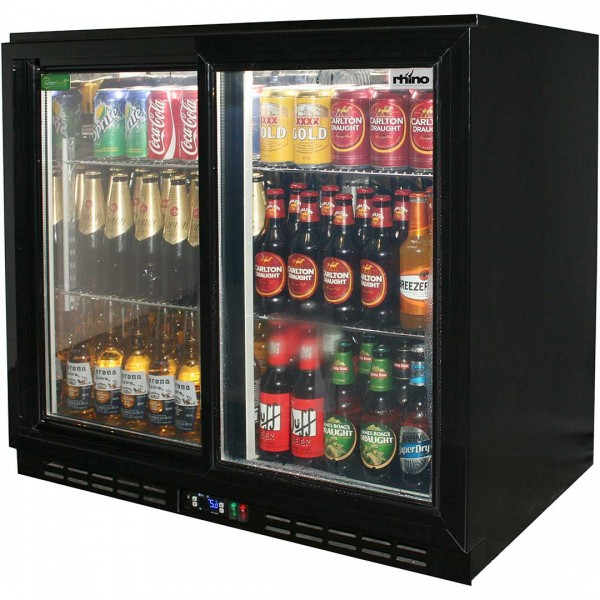 Refrigerator Back Bar Double Door