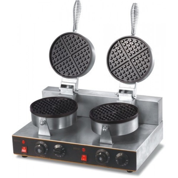 Waffle Machine Table Top Double