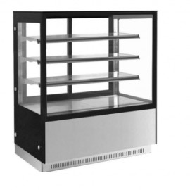Hot Display Counter Inclined Glass 4 Inch 4 Layer