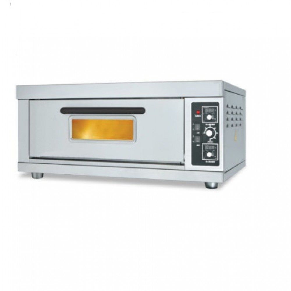 Commercial Gas Pizza Oven 1 Dec 2 Tray