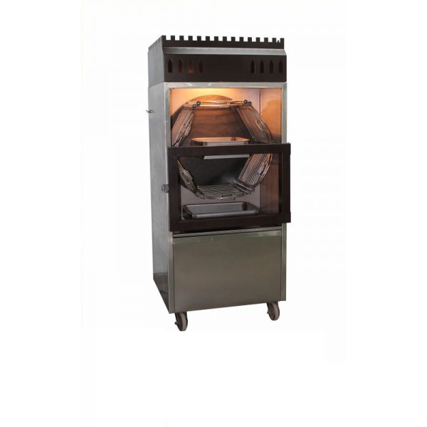 Al Faham Chicken Barbecue Machine Automatic Rotati...