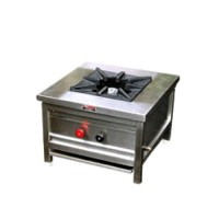 Commercial Gas Range Single Burner