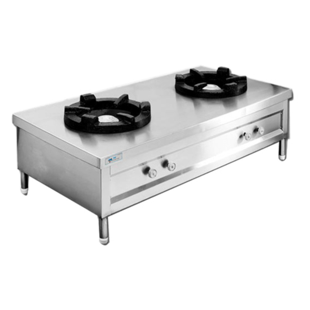 Commercial Gas Range Tabletop Double 10x10