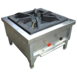 Commercial Gas Range Tabletop Single 15x15