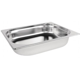 """Stainless Steel Gn Pan 1/2 2.5"""" Depth"""