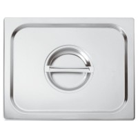 Gn Pan Lid Stainless Steel 1/2