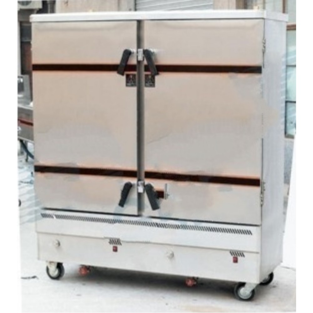 Commercial Foodsteamer Multipurpose 24 Trays Gas Operated