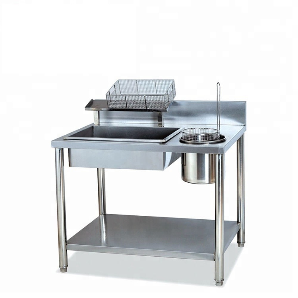 Chicken Breading Table
