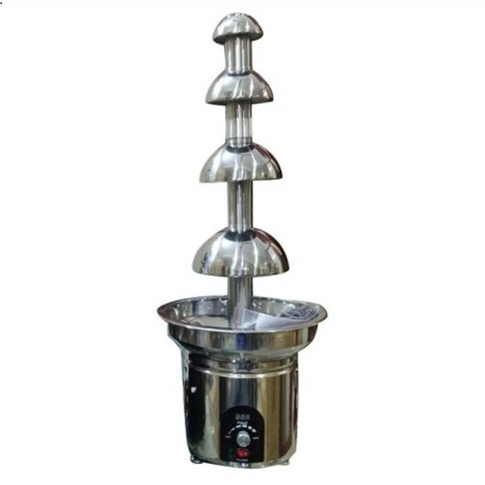 Chocolate Fountain Machine 4 Steps Digital