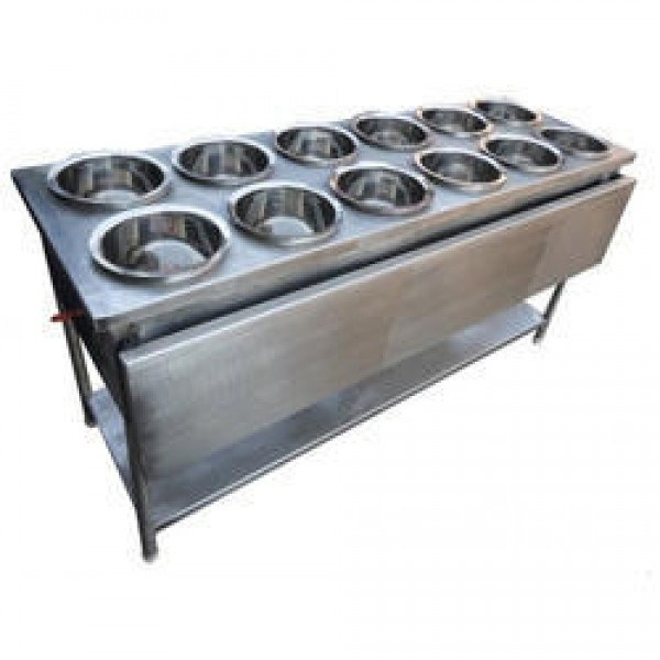 Bain Marie Counter With Stand 12 Bowl