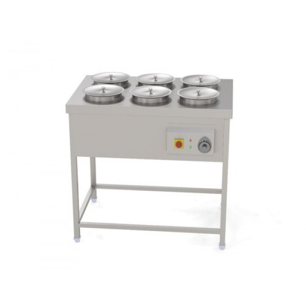 Bain Marie Counter With Stand 6 Bowl