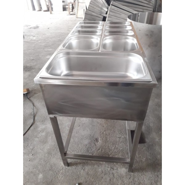Bain Marie Counter With Stand 9 Bowl