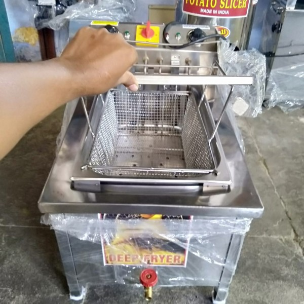 Deep Fryer 20ltr Electric & Gas