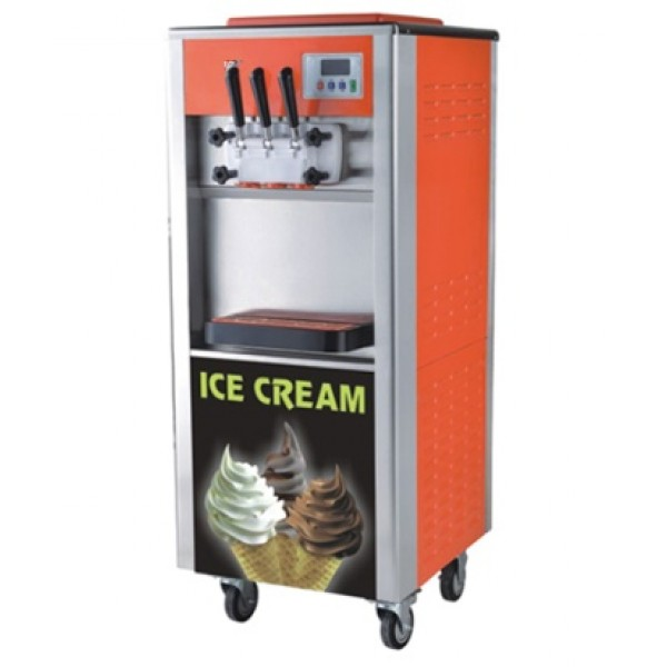 Softy Ice Cream Machine 2x4.5ltr Without Precooling