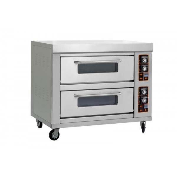 Pizza Oven 2 Deck 4 Tray Electric Model