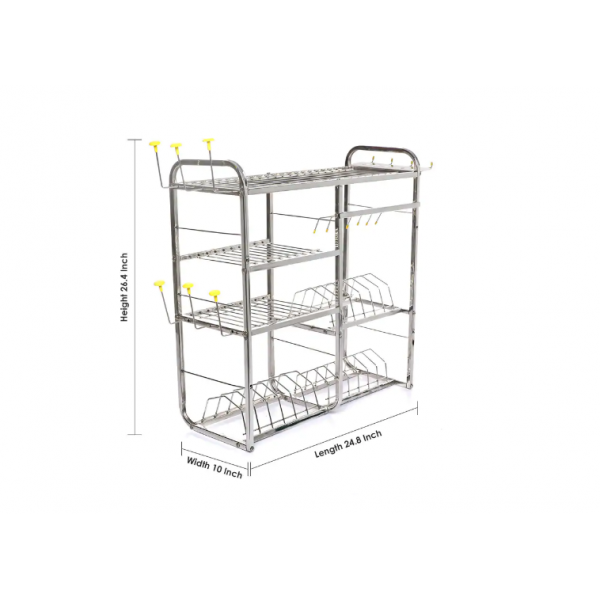 Utensil Rack Stainless Steel