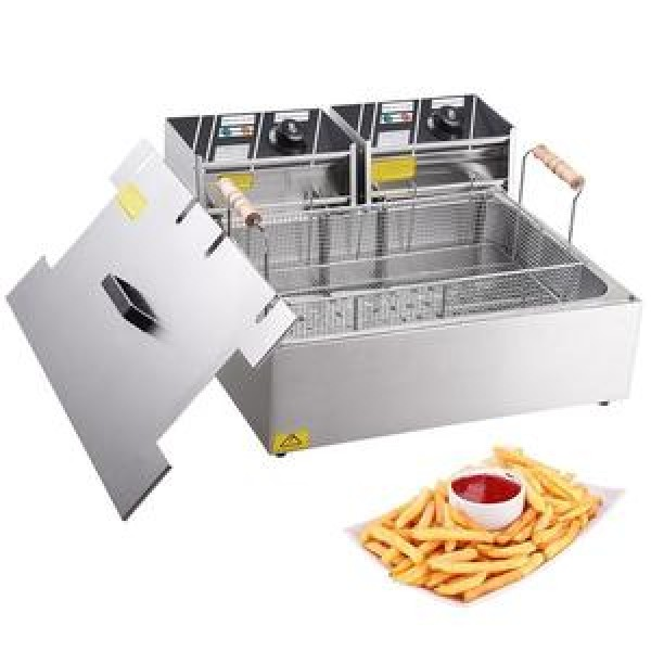 Deep Fryer 20ltr Square
