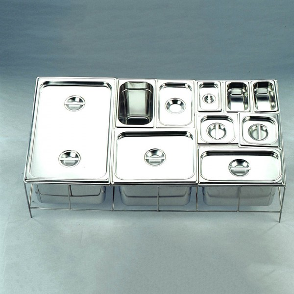 Gn Pan Lid Stainless Steel 2/4