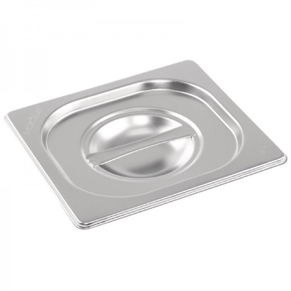Gn Pan Lid Stainless Steel 1/6