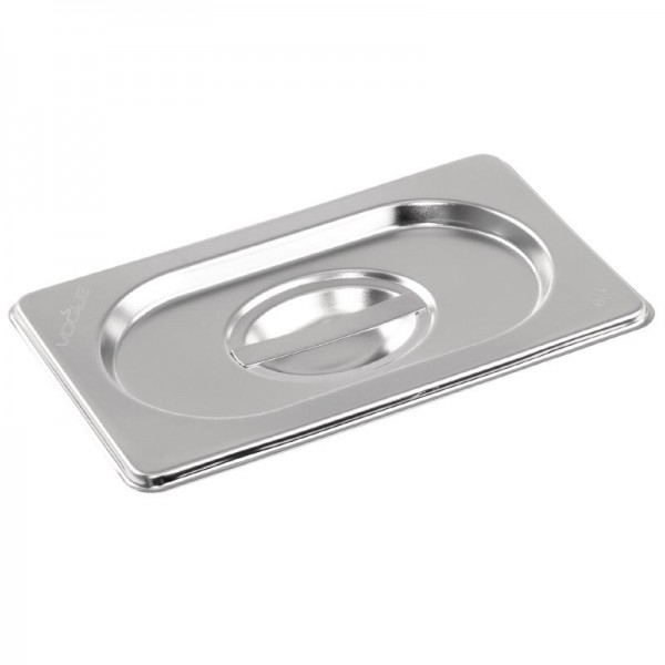 Gn Pan Lid Stainless Steel 1/9