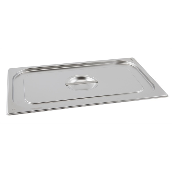 Gn Pan Lid Stainless Steel 2/3