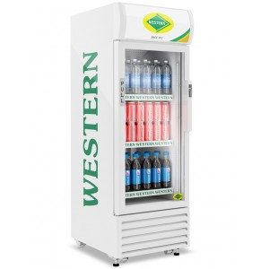 Visi Cooler Single Door 186Ltr Western