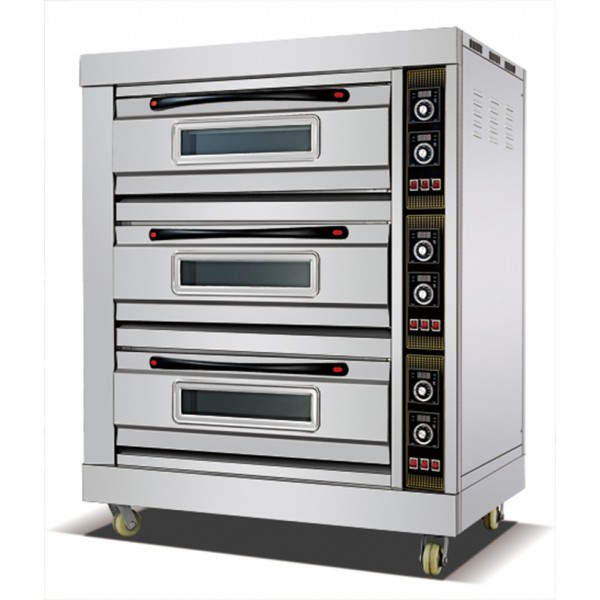 Baking Oven Triple Deck